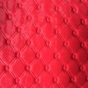 Crocodile PU Leather for Furniture & Sofa Hw-975 pictures & photos