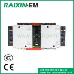 Raixin Cjx2-F115n Mechanical Interlocking Reversing AC Contactor Reversing/Change-Over Type Contactor pictures & photos