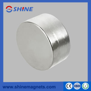 Neodymium Cylinder Magnet D50X30 N35 Ni pictures & photos