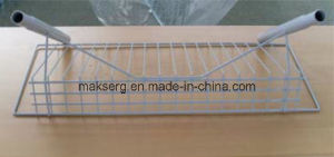 Powder Plated Metal Wire Display Shelf for Store and Supermarket pictures & photos