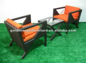 Simple Rattan 3PCS Chair and Table (TY0013) pictures & photos