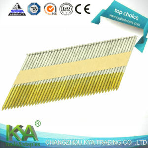 Zinc Galvanized Paper Tape Collated Nails pictures & photos