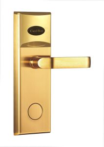 201 Stainless Steel, No. 1 Zinc Alloy Handle RF Hotel Door Lock pictures & photos