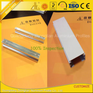 Zhonglian Anodized Silver LED Aluminium Profile for LED Strips with Custom Design pictures & photos