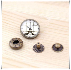 DIY Accessories 18mm Round Metal Snap Button for Garment pictures & photos