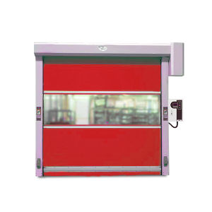 Economic Fast Galvanized Steel Roller Shutter Doors pictures & photos