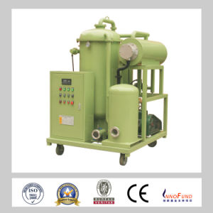 Used Turbine Oil Vacuum Oil Purifier Machine/Turbine Oil Regeneration Plant pictures & photos