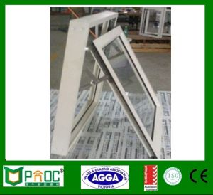 Single Glazed Building Material Aluminum Profile Top Hung Windows pictures & photos