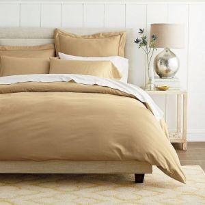 100% Cotton Satin Plain Colored Hotel & Home Bedding Set pictures & photos