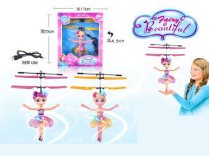 Induction Flying Doll Electric Toy for Girl (H1074602) pictures & photos
