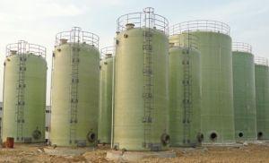 Fiber Glass Horizontal Chemical Tank pictures & photos
