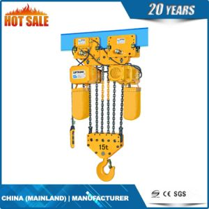 High Quality Iron Chain Bag Electric Chain Hoist pictures & photos