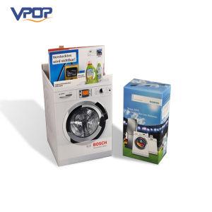 Custom Packing Box Cardboard Washing Machine Stand Display pictures & photos