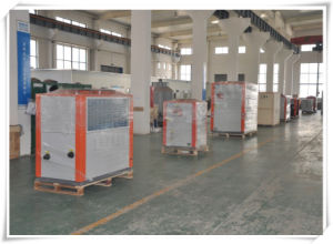 7.8kw Industrial Air Cooled Water Chillers with Scroll Compressor for Beer Fermentation Tank pictures & photos