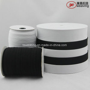 White Black Narrow Knitted Elastic Band pictures & photos