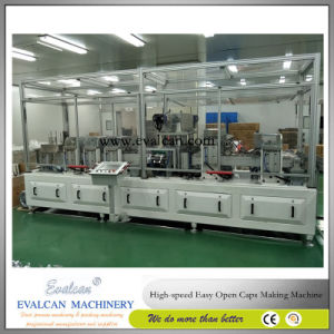 Easy Open Aluminum Foil Peel off Ends Making Machine pictures & photos