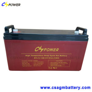 12V120ah Solar Power Gel Battery for Storage, Htl12-120 pictures & photos