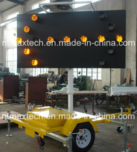 Traffic Arrow Board Sign Solar Powered and Trailer Mounted pictures & photos