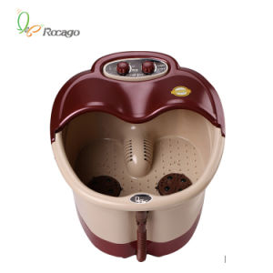 Electric Vibrating Bubble Foot Bath SPA Foot Massage, Shiatsu Foot Massager pictures & photos