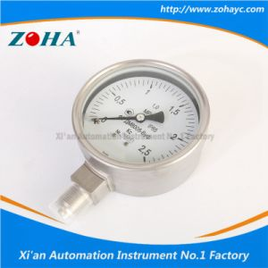 Wika Type All Stainless Steel Pressure Gauge pictures & photos
