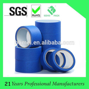 blue Masking Adhesive Tape for Paint Masking pictures & photos