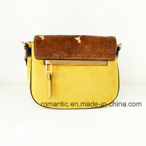 Fashion Designer Lady Suede and Fur Leather Cross Handbags (NMDK-061004) pictures & photos