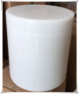 Mini Funeral Urns Pet Urns Burial Urns Keepsake Urns Cremation Urns for Sale with White Marble pictures & photos