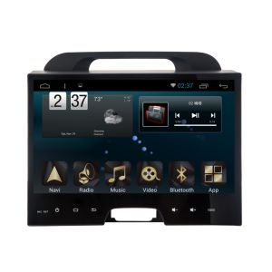 New Ui Android 6.0 System Car Player for Sportage 2011 with Car GPS Navigation