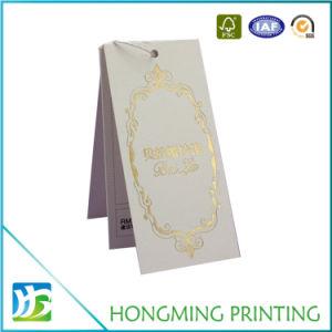 Wholesale White Paper Garment Tag pictures & photos