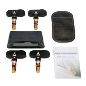 Car TPMS Tyre Pressure Monitoring System Solar Energy TPMS Digital LCD Display pictures & photos
