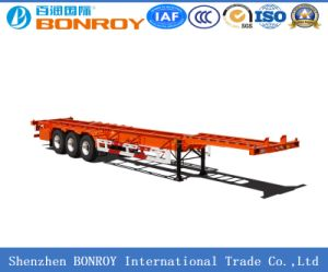 Evergrand 3-Axle 20FT Container Semi Trailer pictures & photos