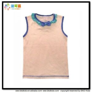 Plain Dyed Baby Wear High Qualty Baby Shirts pictures & photos