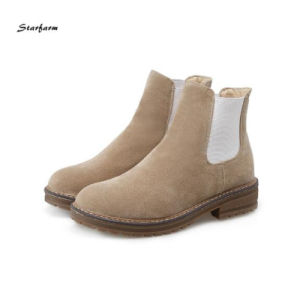 Cow Leather Men Boots Waterproof