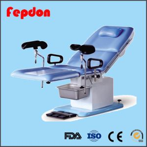 Hospital Medical Obstetric Delivery Table with FDA (HFEPB99A) pictures & photos