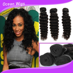Shedding Free Tangle Free 100% Human Virgin Remy Hair Weave pictures & photos