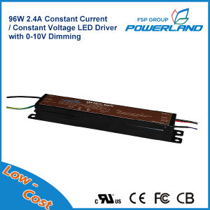 96W 2.4A 20~40V Constant Current Dimmable LED Power Supply pictures & photos