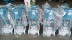 Electric Actuated Sleeve Type Flow Control Valve pictures & photos