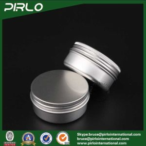 50g Aluminum Cosmetic Jar with Lid for Cosmetic Cream Hand Cream Lip Balm Use pictures & photos