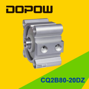 Dopow Series Cq2b80-20 Compact Cylinder Double Acting Basic Type pictures & photos