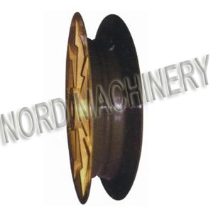 Sand Casting Guide Pulley for Ship Unloader/Transmission pictures & photos