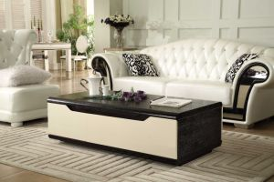 Wholesale Black and White MDF Coffee Table pictures & photos