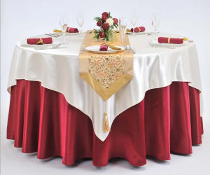Custom Hotel Table Chair Cloth pictures & photos