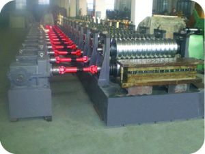 PLC Actomatical Control Steel Silo Roll Forming Machine pictures & photos