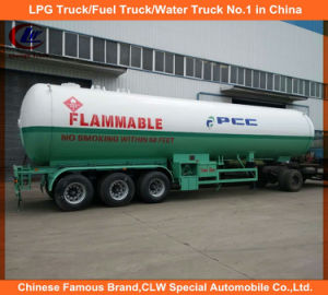 Clw Tri Axles 30tons LPG Tank Trailer for Gas Transportation pictures & photos
