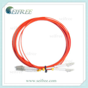 Fiber Optic Patchcord Cable Duplex Om3 LC LC pictures & photos