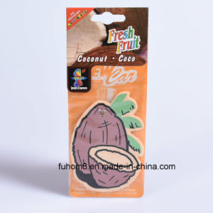 Hanging Scented Paper Car Air Freshener with High Quality pictures & photos