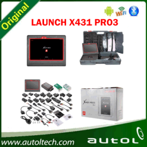Launch X431 PRO 3 Code Reader Wireless Diagnostic Tool Android Full System Tablet Scanner Launch X- 431 PRO 3 Online Update with Two Year Free pictures & photos