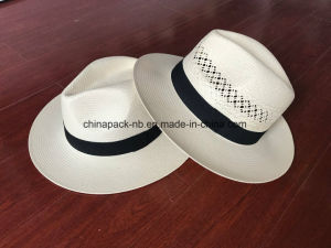 Especially Paper Straw Panama White Hats (CPA_60022) pictures & photos
