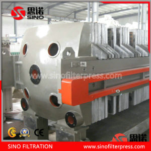 Oil Industry Cast Iron Automatic Plate Frame Filter Press Machine pictures & photos