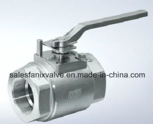 2PC Type of Ball Valve with Internal Thread. 2